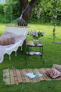 ~ Needing a few days of a 'pretty time' of just relaxing and reading and lounging in the hammock....................