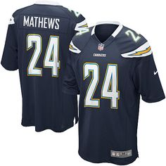 Mens Nike San Diego Chargers #24 Ryan Mathews Limited Team Color Navy Jersey$89.99