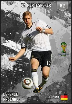 #PerMertesacker Germany FIFA World Cup 2014 Lineup