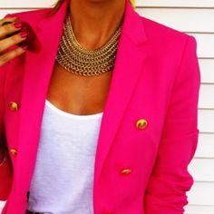 The blazer fashion