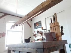antik faanyagok konyhában, rusztikus lakberendezés