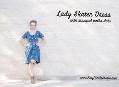 Amy Nicole Studio – A Hacked Lady Skater Dress