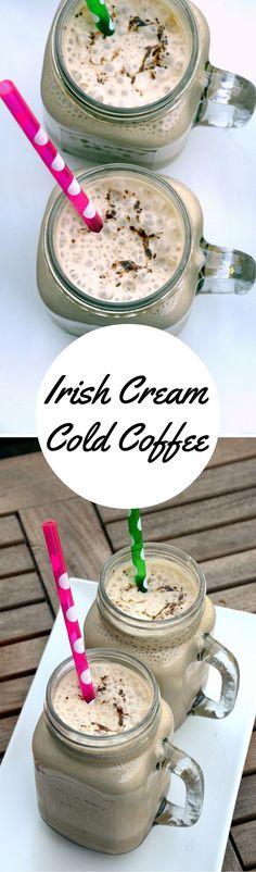 Irish Cream Cold Coffee http://www.cookingcurries.com