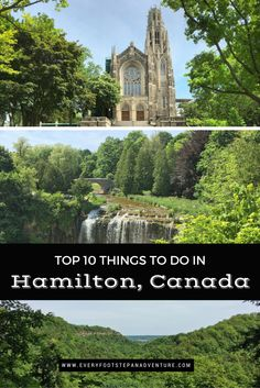 Hamilton, Canada has everything from history to music to food to nature. And with over 100 waterfalls in the area, there is definitely no shortage of waterfalls either! Check out my picks of the 10 BEST things to do when in Hamilton! Vacation Trips, Day Trips, Vacation Ideas, Vacations, Canada Destinations, Canada Travel, Canada Trip, Canada Eh, Parks Canada