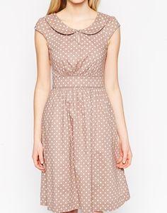Emily & Fin Polka Dot Dress with Full Skirt - Google Search