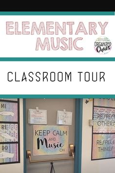 Take a tour of my elementary music classroom. This year with all the cleaning and hybrid teaching, things are looking a little different in my music and choir classes. Classroom Setting, Classroom Setup, Music Classroom, Music Teachers, Teaching Music, Music Education, Embrace The Chaos, Elementary Music, Exercise For Kids