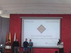 Presentación del Taller de Neuromarketing Aplicado en Institución Universitaria de Envigado