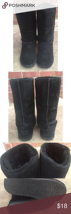 Bjorndal Zoe Warm Black Suede Boots 7 Bjorndal Zoe Winter Boots, 7. Black suede. Some wear on soles, some minor marks on Suede. Super soft and warm inside. Nice overall condition. Smoke free home. Thanks! Bjorndal Shoes Winter & Rain Boots