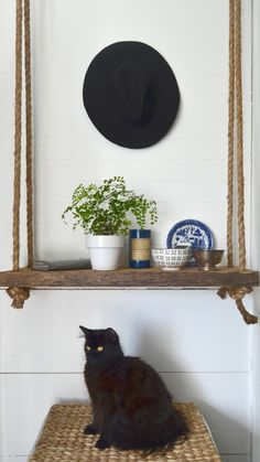 Let's Make A Simple Wood & Rope Shelf