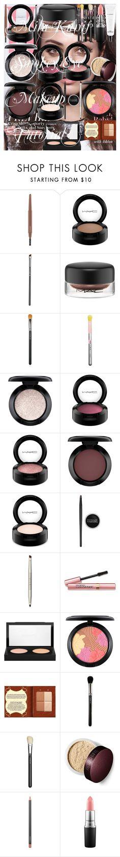 """Mila Kunis Smokey Eye Makeup Tutorial"" by oroartye-1 on Polyvore featuring beauty, MAC Cosmetics, Maybelline, Ilia, L'Oréal Paris and Bourjois"