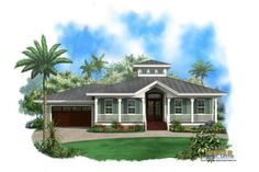 [ Alfa Img Showing Florida Style House Plans Country Farm With Wrap Around Porch Old ] - Best Free Home Design Idea & Inspiration Florida House Plans, Coastal House Plans, Beach House Plans, Cottage House Plans, Cottage Homes, Beach House Decor, House Floor Plans, Old Florida, Florida Style