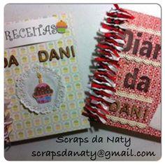Caderno de receita + diário da noiva!