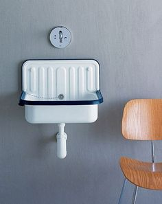 ... about Bathroom on Pinterest Trough sink, Sinks and Bucket sink
