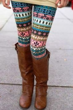 I'll be buying tights like these now that I know how to put an outfit together with them now