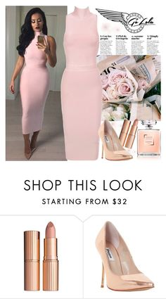 """""""Go Lola"""" by gaby-mil ❤ liked on Polyvore featuring Charlotte Tilbury, Dune, dress and golola"""