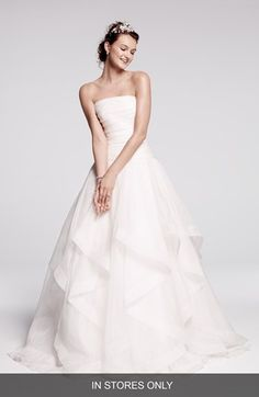 Rosa Clara 'Cava' Tiered Silk Organza Ball Gown (In Stores Only) available at #Nordstrom