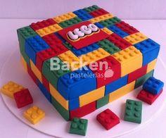 lego Golden Birthday Parties, Ninja Birthday Parties, Superhero Birthday Cake, 4th Birthday Cakes, Star Wars Birthday, Lego Cake, Lego Lego, Lego Friends Party, Monster High Cakes