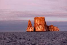 Kicker Rock in the Galapagos Islands