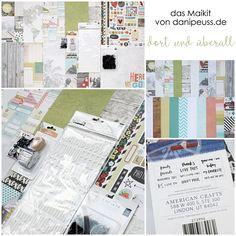 "Maikit 2016 ""dort und überall"" von www.danipeuss.de #dpmaikit16 #danipeuss #scrapbooking"