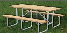 XT Series Frame Kit Standard Extra Heavy Duty Table Picnic - Heavy duty commercial outdoor park picnic table frame kit