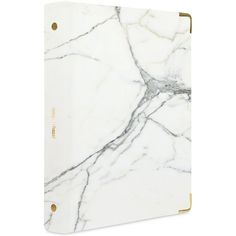 Russell & Hazel Mini 3 Ring Binder (220 CZK) ❤ liked on Polyvore featuring home, home decor, office accessories, fillers, school, books, marble, mini binder, russell hazel binder and mini dry erase erasers