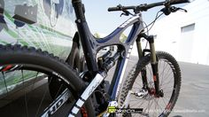 This was the first Ibis HDR built for their pro rider last summer