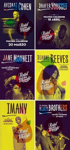 Cicle de concerts Round About Midnight. Teatre Coliseum (Barcelona). Des del 20 de març fins al 23 de maig