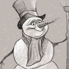 snowman ★ || CHARACTER DESIGN REFERENCES™ (https://www.facebook.com/CharacterDesignReferences & https://www.pinterest.com/characterdesigh) • Love Character Design? Join the #CDChallenge (link→ https://www.facebook.com/groups/CharacterDesignChallenge) Share your unique vision of a theme, promote your art in a community of over 50.000 artists! || ★
