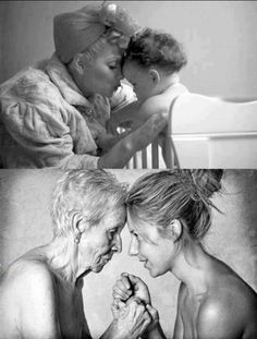 This is beautiful...nothing like the bond between mother and daughter!