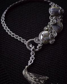"necklace ""Moonlight"""