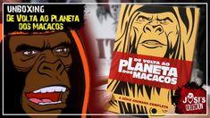 De Volta ao Planeta dos Macacos - A Série Animada Geek Things, Geek Stuff, Comic Books, Comics, Planet Of The Apes, Planets, Comic Strips, Comic Book, Comic Book