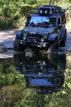 Jeep off road.