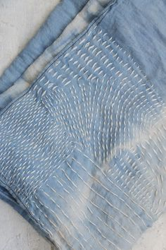 The Beauty Of Sashiko Stitching Buttons, threads, embroidery… beyond an intentional hole or...