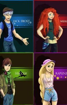 fate does it 2 (jack + rapunzel, merithda + hiccup, rise of the brave tangled dragons)