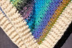 crochet wool turtle neck poncho / crochet by SophieCRO on Etsy