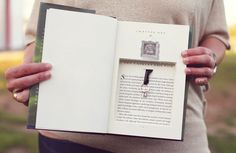 <b>Wedding bells and book lovers, best combination ever.</b>