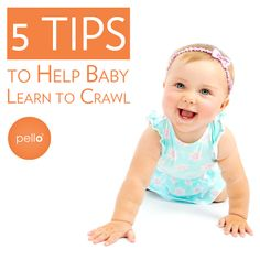 how to help your child crawl