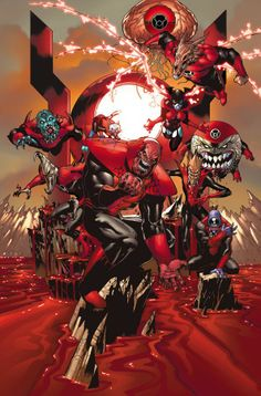 Red Lantern Corps (Team) - Comic Vine --- A savage parallel of the Green Lantern Corps. The Red Lantern Corps is fueled by the light of rage. This corps was founded by Atrocitus. These lanterns roam the galaxy seeking violent retribution. Comic Books Art, Comic Art, Red Lantern Corps, Hq Marvel, Univers Dc, Arte Dc Comics, Mundo Comic, Dc Comics Characters, Injustice Characters