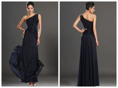 $128 - one-shoulder dress, can be made in any color