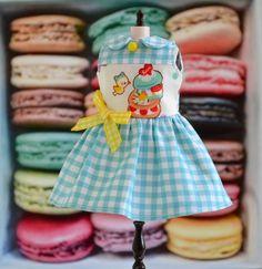 Blythe Dress Macaron Dress for Blythe by by SweetPetiteShoppe