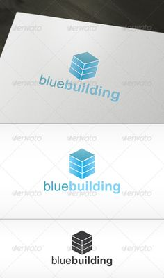 Blue Building Logo by Toshev INCLUDE: - AI, EPS- CMYK- Fully editable- Easy to change color and text- Font used: ArialDON`T FORGET TO RATE, THANK YOU