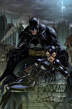 Batman Catwoman by Joe Benitez / by ~scroll142