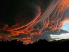 Devil clouds