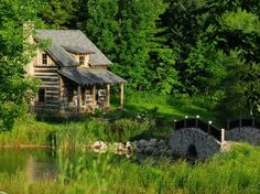 Rustic Retreat in Ontario, Canada~ Country Living