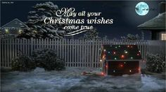 Christmas Dreams Come True - Adorable Dog and Santa Christmas eCard