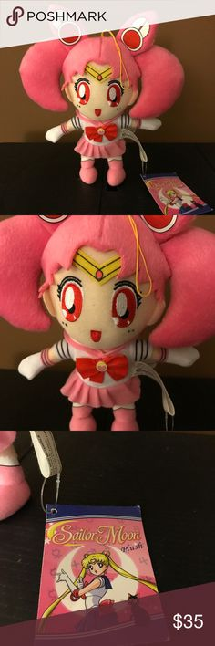 "Sailor Moon Chibiusa Rini 9"" Plush NWT Sailor Moon Chibiusa Rini 9"" Plush NWT Naoko Takeuchi Toei Animation Other"