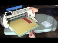 Episode 35 - Embossing with your Cricut using the Embossing Housing