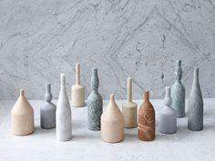 Marble decorative object OMAGGIO A MORANDI by SALVATORI