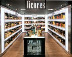 City Market, the supermarket design idea, supermarket design, grocery store design, interior design, liquor store design, contemporist design, liquor store design idea Todo está perfectamente ordenado señalada y es claramente visible para cualquiera, aunque un poco pequeño pero de bonita apariencia.
