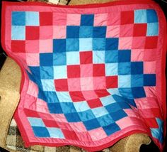 Baby quilt for Natalie 1980's